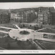 Postales: BILBAO - 223- PLAZA FEDERICO MOYUA - FOTOGRAFICA ROISIN - (47.519). Lote 82887064