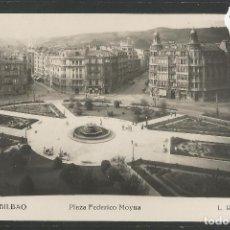 Postales: BILBAO - 223- PLAZA FEDERICO MOYUA - FOTOGRAFICA ROISIN - (47.526). Lote 82887756