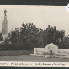 Postales: BILBAO -227- PARQUE DEL ENSANCHE - FOTOGRAFICA ROISIN - (47.530). Lote 82888288