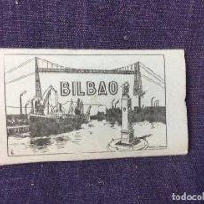 Postales: DIEZ POSTALES DE BILBAO DE 5,5X9,5 MINIATURAS ACORDEON N 3 LIBRERIA TROYA . Lote 83329752