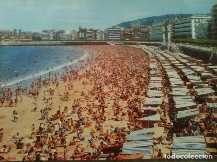 PLAYA DE LA CONCHA - SAN SEBASTIÁN (Postales - España - País Vasco Moderna (desde 1940))