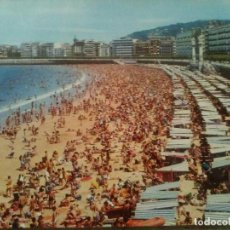 Postales: PLAYA DE LA CONCHA - SAN SEBASTIÁN. Lote 83688072
