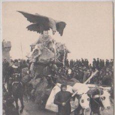 Postales: SAN SEBASTIAN - LA CUARESMA ARREBATANDO AL CARNAVAL - DE 1908. Lote 83872000
