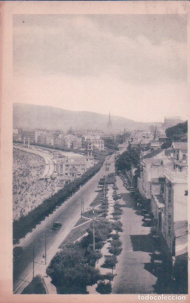 POSTAL SAN SEBASTIAN - VISTA DESDE MIRACONCHA - HAUSER Y MENET (Postales - España - Pais Vasco Antigua (hasta 1939))