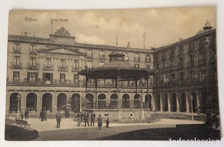 POSTAL. PLAZA NUEVA. BILBAO. VIZCAYA. (Postales - España - Pais Vasco Antigua (hasta 1939))