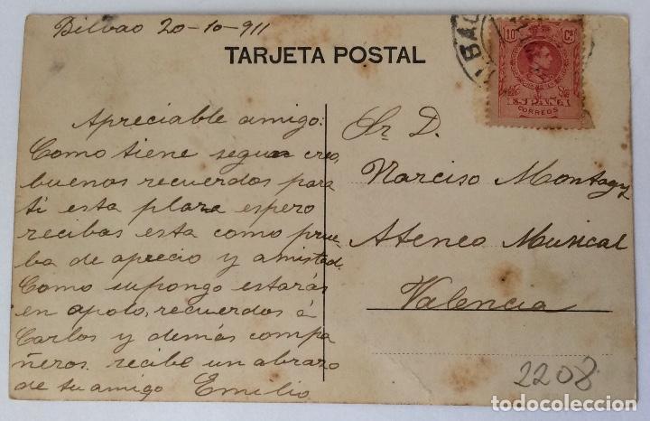 Postales: POSTAL. PLAZA NUEVA. BILBAO. VIZCAYA. - Foto 2 - 84526352