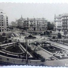 Postales: POSTAL BILBAO - PLAZA DE FEDERICO MOYUA, ESCRITA AÑO 1951. Lote 84849308