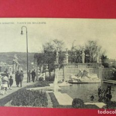 Postales: POSTAL SAN SEBASTIÁN, GUIPÚZCOA, BOULEVARD - P3183. Lote 85008672