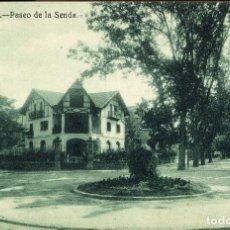 Postales: VITORIA - PASEO DE LA SENDA - FOTOS GALMES -. Lote 85284360