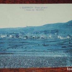 Postales: GUERNICA (VIZCAYA) VISTA GENERAL, 1 ROISIN, EXCLUSIVA IMPRENTA MODERNA, SIN CIRCULAR. Lote 86006220
