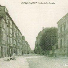 Postales: POSTAL VITORIA-GASTEIZ CALLE DE LA FLORIDA. Lote 86163160