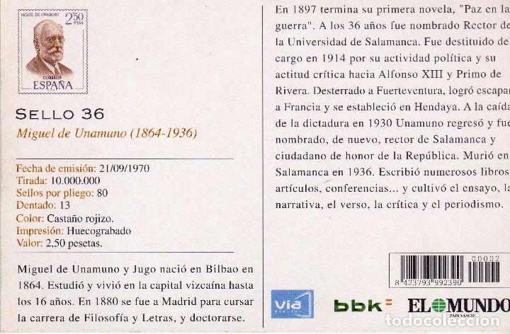 Postales: POSTAL BILBAO-VIZCAYA PLAZA CIRCULAR - Foto 2 - 86213948