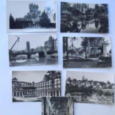 Postales: BILBAO / LOTE DE 7 POSTALES BLANCO Y NEGRO / GARCIA GARRABELLA - ROISIN / VIZVAYA. Lote 86710220