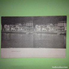 Postales: POSTAL ESTEREOSCÓPICA - PASSAGE - GUIPÚZCOA - PAIS VACO -. Lote 87225284