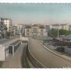 Postais: BERMEO .- ESTACION F.C. Y PORTAL SAN FRANCISCO .- Nº 14 EDICION GARCIA GARRABELLA . Lote 87466416