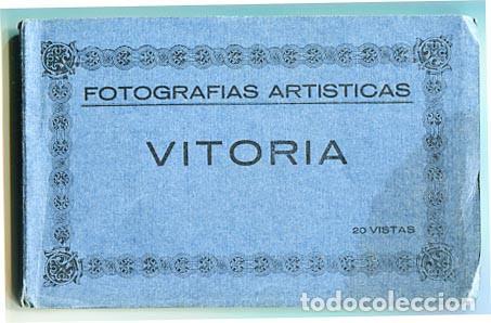 VITORIA BLOC COMPLETO CON 20 POSTALES FOTOGRÁFICAS. EDICION MARGARA, G.H. ALSINA (Postales - España - Pais Vasco Antigua (hasta 1939))
