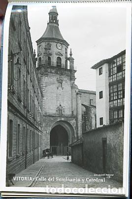 Postales: VITORIA BLOC COMPLETO CON 20 POSTALES FOTOGRÁFICAS. EDICION MARGARA, G.H. ALSINA - Foto 4 - 88099532
