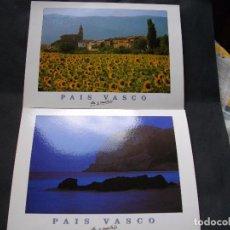 Postales: 4 PRECIOSAS POSTALES - DEL PAIS VASCO - LAS DE LAS FOTOS VER TODAS MIS POSTALES. Lote 88489464