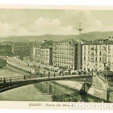 Cartoline: BILBAO PUENTE DEL MERCADO ED. KNACKSTEDT & NÄTHER. SIN CIRCULAR. Lote 89223016