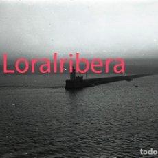 Postales: NEGATIVO ESPAÑA BILBAO COSTA DESDE BARCO SS PATRICIA 1970 KODAK 35MM NEGATIVE SPAIN PHOTO FOTO SHIP. Lote 91110380