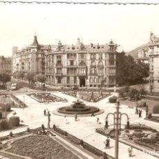Postales: BILBAO PZA. DE FEDERICO MOYÚA GARRABELLA C. 1966. Lote 91613200