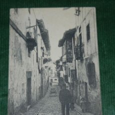 Postales: FUENTERRABIA - GUIPUZCOA - CALLE PAMPINOT - ND FOT 24 . Lote 91701705