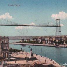 Postales: POSTAL BILBAO PUENTE VIZCAYA P.MUNDI/P. VASCO-41. Lote 91886180