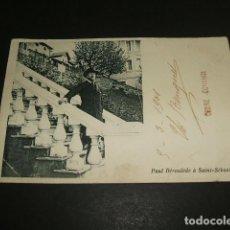 Postales: SAN SEBASTIAN PAUL DEROULEDE POSTAL 1901. Lote 92354905