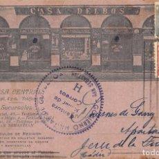 Postkarten - SAN SEBASTIÁN (GUIPUZCOA).- CASA DELBOS - 93645775
