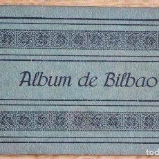 Postales: ALBUM DE 16 POSTALES DE BILBAO - INCOMPLETO ERAN 20 - L.G BILBAO. Lote 93752520