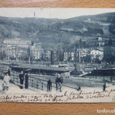 Postales: BILBAO (VIZCAYA).-CAMPO VOLANTIN DESDE EL ENSANCHE. LANDABURU HERMANAS Nº1025.. Lote 93776140