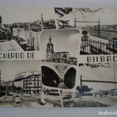 Postales: POSTAL DE BILBAO RECUERDO DE BILBAO. Lote 93820145