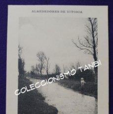 Postales: POSTAL DE VITORIA (ALAVA). ALREDEDORES DE VITORIA. PAISAJE. LIBRERIA GENERAL. AÑO 1910-1915. Lote 94019160