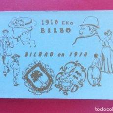 Postales - BLOCK 12 POSTALES REPRODUCCIONES - BILBAO EN 1910 - 1910 EKO BILBO - AÑO 1990 .. R-6756 - 94111430