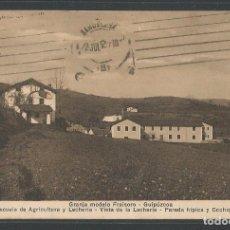 Postales: ZIZURKIL - GRANJA MODELO FRAISORO - ESCUELA DE AGRICULTURA Y LECHERÍA - P22369. Lote 94136395