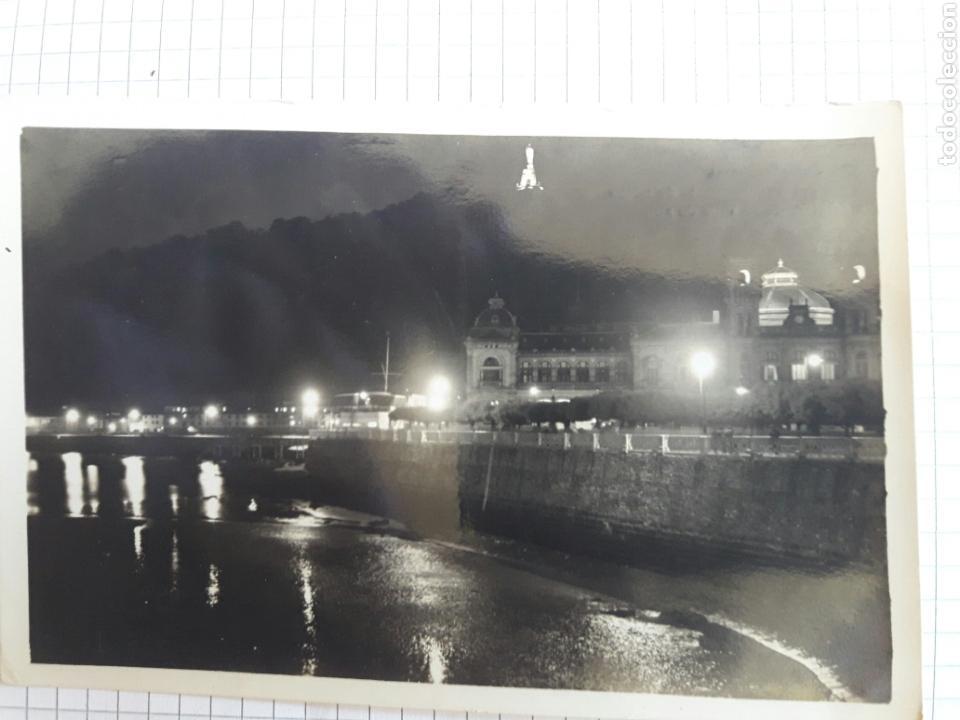 POSTAL CIRCULADA SAN SEBASTIÁN AÑOS 60 (Postales - España - País Vasco Moderna (desde 1940))