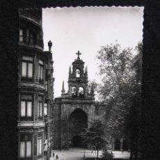 Postales: POSTAL BILBAO - IGLESIA SAN VICENTE - 1956. Lote 95575759