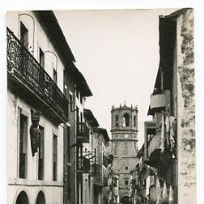 Postales: GUIPUZCOA GUETARIA LA CALLE MAYOR Y LA IGLESIA. . ED. L. CHATAGNEAU. CIRCULADA. Lote 95695607
