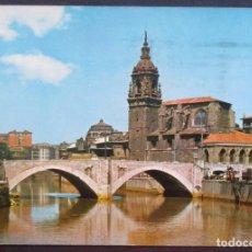 Postales: BILBAO -PUENTE DE SAN ANTÓN- CIRCULADA 1964 / P-841. Lote 95751523