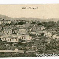 Postales: GUIPUZCOA IRUN VISTA GENERAL. E.J.G. SIN CIRCULAR. Lote 95820995