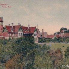 Postales: SAN SEBASTIAN GUIPUZCOA PALACIO REAL ED. TRENKLER CO LEIPZIG 1907 - 20 - CIRCULADA. Lote 96009723