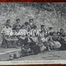 Postales: POSTAL DE AZPEITIA. GUIPUZCOA, GRUPO DE OBREROS ALPARGATEROS. ED. H. GUIBERT, NO CIRCULADA, SIN DIVI. Lote 96209239