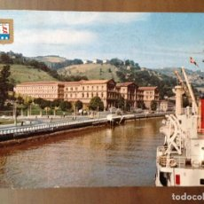 Postales: POSTAL BILBAO RIA UNIVERSIDAD DEUSTO. Lote 96396995