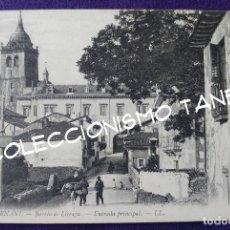 Postales: POSTAL DE HERNANI (GUIPUZCOA). 2. BARRIO LICEAGA. ENTRADA PRINCIPAL. AÑO 1910-1915. Lote 96615467