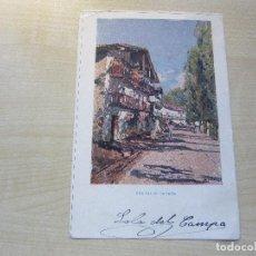 Postales: POSTAL EN COLOR DE UNA CALLE DE IRÚN DE LA REVISTA BLANCO Y NEGRO ENVIADA Y SELLADA EN 1903. Lote 96683027