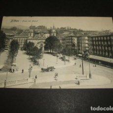 Postales: BILBAO PASEO DEL ARENAL. Lote 96796547