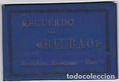 RECUERDO DE BILBAO.- ÁLBUM DE 16 VISTAS- (Postales - España - Pais Vasco Antigua (hasta 1939))