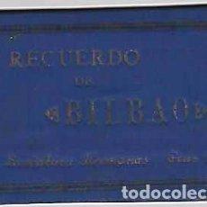 Postales: RECUERDO DE BILBAO.- ÁLBUM DE 16 VISTAS-. Lote 97360095