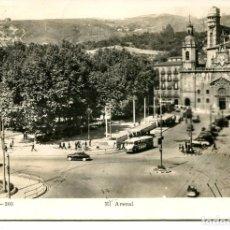 Postales: BILBAO-EL ARENAL TROLEBUS-BISCUTER- MADYMA 203- 1960 RARA. Lote 97410411