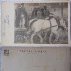 Postales: EN EL MUELLE. A. ARTETA. ASOC ARTISTAS VASCOS, BILBAO. FOTO LUX. Lote 97416975